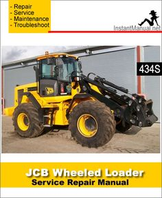 jcb 411 416 wheel loader shovel service repair manual jcb 416 rh pinterest com jcb 426 wheel loader specs JCB 426E