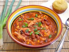 """chipotle chicken chili or """"C3"""" - Budget Bytes"""
