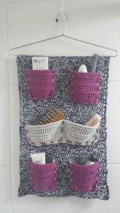 Painel de crochet