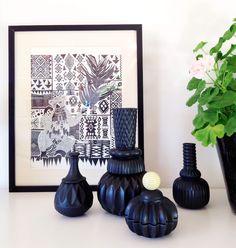 Bonbonnières et vases en céramique danoise à partir de 84 €, chez Maison Aimable / Paris