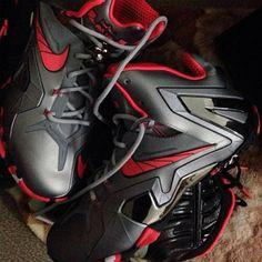 4001de9d602 Nike LeBron XI (11) Elite Black Red Lebron 11
