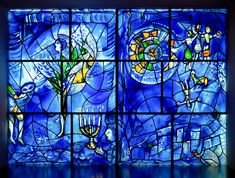 https://flic.kr/p/EAdiDd | Marc Chagall, America Windows, 1975-77 11/12/17 #artinstitutechi