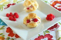 Cream Puffs with Raspberry Filling Recipe on Yummly. @yummly #recipe