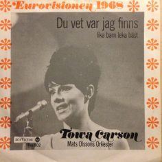 Du vet var jag finns. Melodifestivalen 1968.