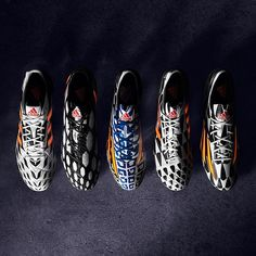 adidas World Cup Battle Pack Soccer Shoes. Messi Soccer Cleats, Nike Soccer, Soccer Players, Football Gear, Football Boots, Soccer Boots, Basketball Shoes, Adidas Boots, Mia Hamm