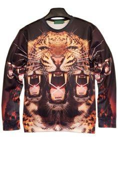 Fierce Tiger Sweatshirt OASAP.com