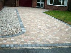 Acorn Landscaping, a family run business based near Bury St Edmunds in Suffolk with over 20 years experience . Please call us on 01359 221232 or 07748 983050 Driveway Blocks, Driveway Ideas, Kerb Appeal, Bury St Edmunds, Block Paving, House Front, Garden Inspiration, Side Walk, Patio