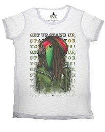 T-shirt Bob Parrot Marley Out
