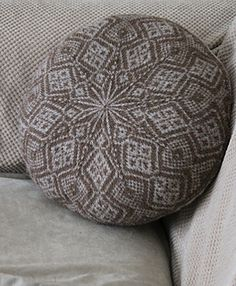 Scaddiman Cushion Cover by Hazel Tindall on Ravelry