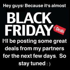 """Pessoal como já está chegando a """"black friday""""  postarei nos próximos dias promoções que serão feitas pelos meus parceiros. Então fiquem de olho e aproveitem porque com certeza vai ter algo que vocês irão curtir com bom preço. Bjs! by bellafalconi"""
