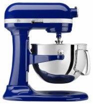KitchenAid Professional 600 Series Stand Mixer Blue KP26M1XBU - Best Buy