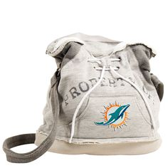 Miami Dolphins NFL Property Of Hoodie Duffel