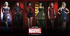 """To celebrate of the release of Marvel's Avengers: Age of Ultron, Her Universe and Disney Consumer Products have unveiled a fashion line inspired by the Avengers.   Hot Topic Just Unveiled A Fan-Designed """"Avengers"""" Clothing Line"""