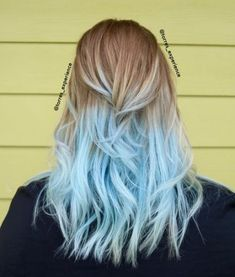 Blonde and blue hair, blonde hair tips, blue tips hair, pastel blue hair,. Blue Tips Hair, Blonde And Blue Hair, Blonde Hair Tips, Pastel Blue Hair, Hair Dye Tips, Blond Ombre, Ombre Hair Color, Blonde Color, Cool Hair Color