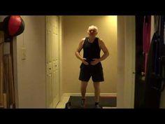 Два простых упражнения, чтобы кожа не висела на руках и ногах - YouTube