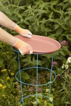 Add marbles or stones for the bees to land on and make a