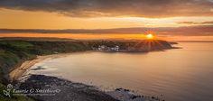 Runswick Bay Sunset From Kettleness
