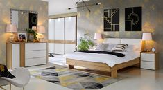 Łóżko Verenice producenta Forte. Bed, Furniture, Dimensions, Mousse, Home Decor, Products, Strong, Home Decoration, Home Ideas