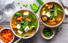 Hot and sour soup, a tangy, peppery bowl of broth and veggies, gets a fresh update with asparagus, but any of your favorite vegetables work nicely here. Since some restaurant versions are loaded with salt and MSG, it's much better to make your own at home — and season the broth with just enough flavorful ...