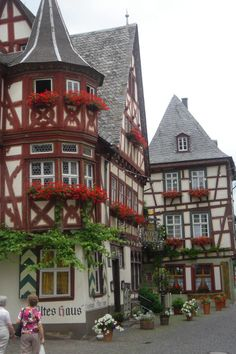 Kaiserslautern, Germany. Altes haus.