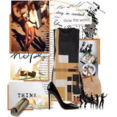 """""""Think..."""" by tamaraza on Polyvore"""