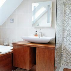 New England-Stil Kies Bad Wohnideen Badezimmer Living Ideas Bathroom