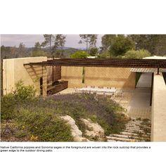 Napa Valley Rammed Earth House ; Year: 2009 ; Architects: Steven Harrison ; Landscape: Blasen Landscape Architecture ; Photography: Marion Brenner