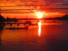 Chester sunset