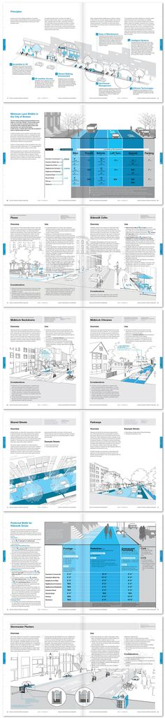 Complete Streets layouts for website