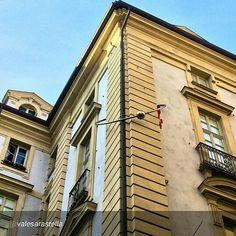 #Torino raccontata dai cittadini per #inTO Foto di valesarastella piazza Corpus Domini, il palazzo con il piercing: per me uno degli angoli più belli e bizzarri di #Torino