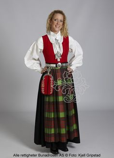 Providing information, photos and general knowledge of Norwegian bunad, festdrakts and folkdrakt. Fall Skirts, Mini Skirts, Patterned Tights, Folk Costume, Cool Sweaters, Satin Dresses, Looks Great, Winter Outfits, Dress Up