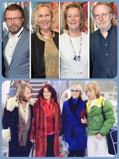 """ABBA in 1979 and now 2016 ! On January 20 , officially inaugurated """" Mamma Mia! The Party """". The big surprise was that the four members of ABBA were there, is the group's first meeting since the premiere of the film """"Mamma Mia!"""" at Stockholm on July 4, 2008."""