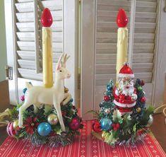 Kitsch Retro Christmas Decor Handmade Whimsical Recycled Dog Gift Vintage Mid Century Winter Dachshund Wood Ornament