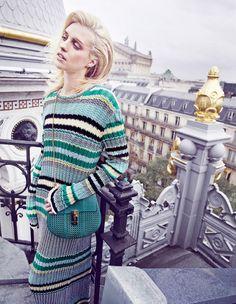 #JuliaFrauche by #MarcinTyszka for #VogueParis Travel S/S 2015