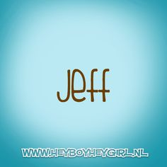 Jeff (Voor meer inspiratie, en unieke geboortekaartjes kijk op www.heyboyheygirl.nl)