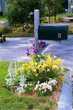 mailbox garden ideas - Bing Images