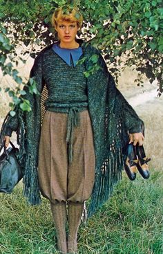 Vogue UK 1975 Beshka Sorensen Photo by Alex Chatelaine 60s And 70s Fashion, 70s Vintage Fashion, Seventies Fashion, 70s Outfits, Vintage Style Outfits, Chic Outfits, Vogue Fashion, Fashion Models, Vogue Uk