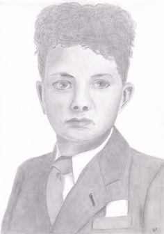 My first portrait → http://hfportretten.wordpress.com/