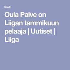 Oula Palve on Liigan tammikuun pelaaja | Uutiset | Liiga