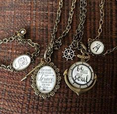 Locket vintage love child antique plunderjewelry quote verse inspirational necklace or bracelets plunderdesignjoleenbrooks mozeypictures Choice Image