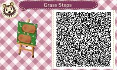 devichonee:  Well, here's the QR code for those bricks! I did what I could with blending the grass pattern into the actual grass; however, at night it seems to stick out more. Looks better midday, I think.