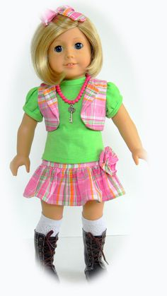 new on Etsy http://www.etsy.com/listing/93304634/american-girl-18-inch-doll-clothes-4pc