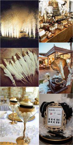 Roaring 20s Birthday Party, Roaring 20s Wedding, 1920s Wedding, Great Gatsby Prom Theme, Speakeasy Party, Prom Themes, Prom Decor, Wedding Ideas, Wedding Boxes