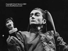 David Tennant as Touchstone in As You Like It(1996)-The Shakespeare Society