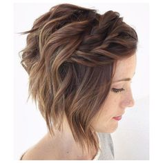 90 Mind-Blowing Short Hairstyles for Fine Hair ❤ liked on Polyvore featuring beauty products, haircare, hair styling tools and short hair accessories