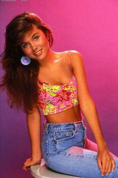 Class Act: See Kelly Kapowski's Most Awesome '90s Style Moments : In a floral crop top and high-waisted jeans, Kelly Kapowski single-handedly set the precedent for millions of Coachella outfits to come.  Source: Tumblr user tericajohnson
