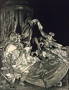 Иллюстрации Franz Wacik для журнала Die Muskete, 1906-1911, Вена- Все интересное в искусстве и не только.