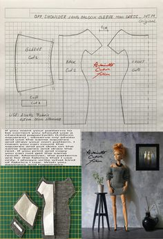 Sewing Barbie Clothes, Barbie Sewing Patterns, Doll Dress Patterns, Barbie Y Ken, Barbie Dress, Made To Move Barbie, Barbie Basics, Barbie Fashionista Dolls, Crochet Doll Dress