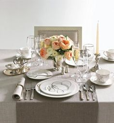 Mikasa Love Story Fine Dinnerware Collection. The ideal dinnerware for newlyweds. Photo by Macy's