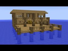 A tutorial on how to build a survival house in Minecraft. This starter building is perfect for beginners who play Minecraft survival mode. Very easy and fast. Minecraft Starter House, Mine Minecraft, Minecraft Plans, Minecraft Survival, Amazing Minecraft, Minecraft Tutorial, Minecraft Creations, How To Play Minecraft, Minecraft Designs